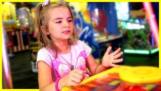 Girl Gets SERIOUS about Chuck E Cheese