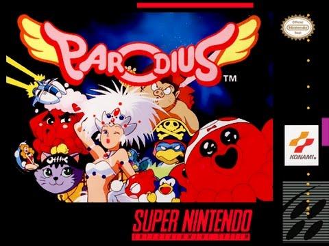 [Retro-Freitag] Parodius – Non-Sense Fantasy (Super Nintendo)