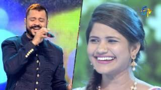 Yem Sakkagunnavro Song | Uma Neha,Anuj Performance | Super Masti | Mahabubnagar | 12th February 2017