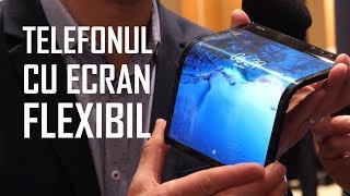 📲Telefonul Flexibil! - Royole FlexPai [HANDS-ON]