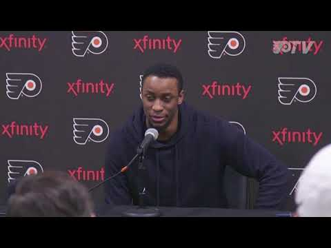Exit Interview: Simmonds - Hear from Wayne Simmonds at his exit interview