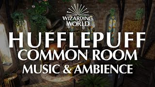 Hufflepuff Common Room | Harry Potter Music & Ambience – 4 Magical Scenes for Relaxation and Focus.