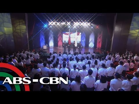 [ABS-CBN]  One Love, One Pinas | Flag Raising Ceremony