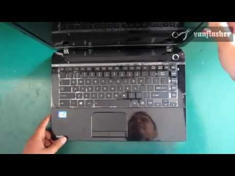 How to replace Toshiba Satellite C40 C40D keyboard