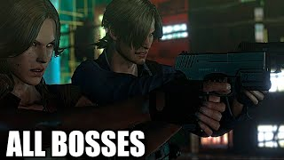 Resident Evil 6 - All Bosses (With Cutscenes) HD