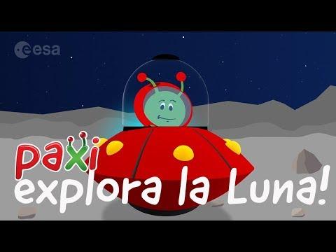 Paxi Explora la Luna-Para alumnos de Infantil y Primaria