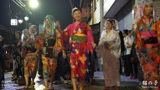4K 郡上徹夜踊り2017「猫の子・2日目雨天」Neko No Ko, Gujo Odori
