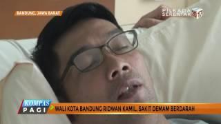 Terkena DBD Kang Emil Dirawat