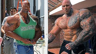 The Rock vs Martyn Ford Transformation ★ 2018
