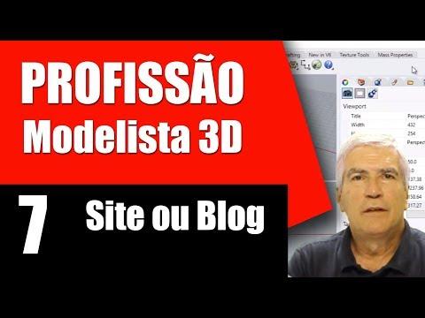 Blog ou Site - Profissão Modelista 3D
