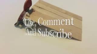Fingerboard Ramp Tutorial