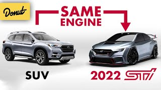 Subaru's NEW Boxer Engine - The Science EXPLAINED