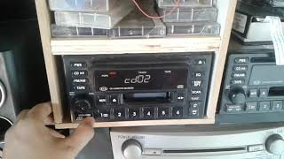 CD cassette receiver KIA