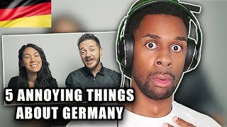 5 ANNOYING Things About GERMANY! REACTION