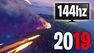 How To Enable 144hz Windows 10!