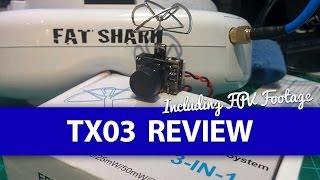 FULL REVIEW: Eachine TX03 AIO FPV Camera WITH DVR Footage! - Micro FPV System