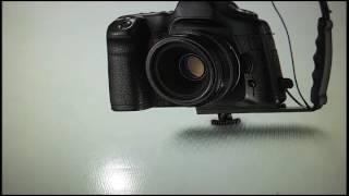 Insignia Dual Cold Shoe Mount Bracket for DSLR Cameras