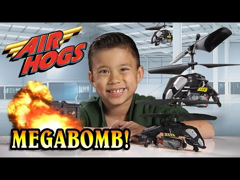 Air Hogs MEGABOMB Review & Unboxing – BOMBS AWAY!!! [EvanTubeHD CLASSIC]