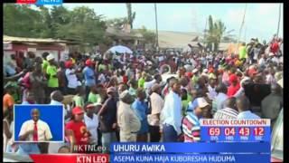 Rais Uhuru Kenyatta amshambulia Gavana wa Mombasa Ali Hassan Joho