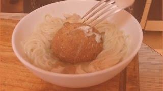 замороженное яйцо в панировке во фритюре. (рукожопые рецепты)