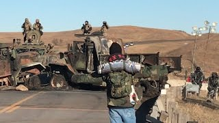 """Standing Rock """"a Concentration Camp"""" / Another tense standoff"""
