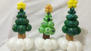 Christmas Tree Balloon Bracelets