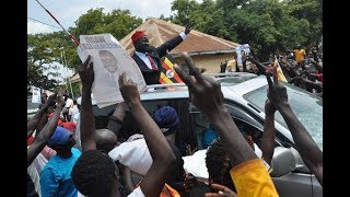 Independent candidate wins Ugandan by-election from prison - VIDEO