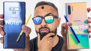 Samsung Galaxy Note10+ vs Samsung Galaxy Note9