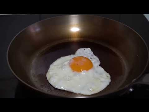 Como curar una sarten de hierro