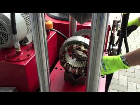 Electric Motor Recycling and Scrapping Machine | Bronneberg