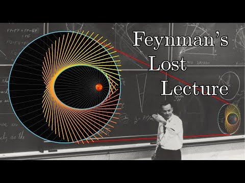 Feynman's Lost Lecture (ft. 3Blue1Brown)