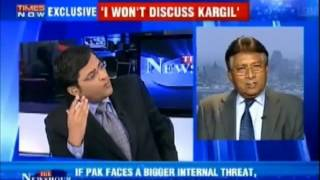 Pervez Musharaf lashed out at Indian media - Full Interview | Kholo.pk