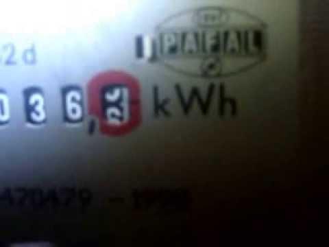 Zgodnie z prawem w prywatnym domu, w którym licznik elektryczny jest ustawiony na