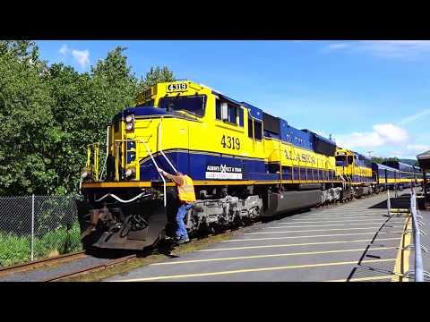 Alaska Rail - Anchorage to Seward - the full Journey