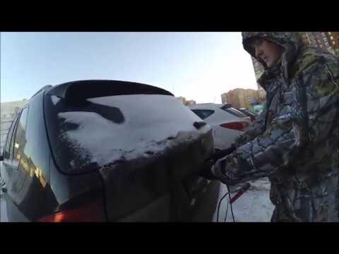 [Полезно] Открываем BMW без аккумулятора и с неработающей на морозе личинкой
