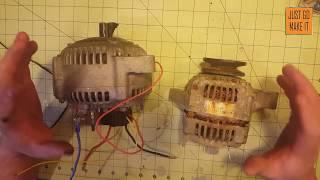 Pt.3 Alternator To Brushless Motor Conversion 2.0,  Alternator Modification