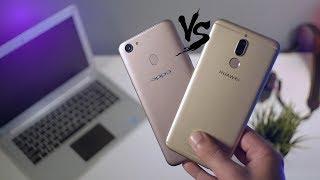 مقارنة تفصيلية  بين Huawei Mate 10 Lite VS Oppo F5 | من الافضل ؟! 💪