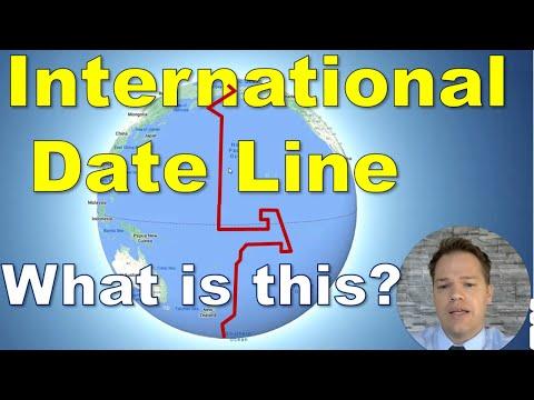 Wat is die Internasionale Datumlyn?