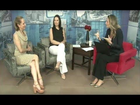 Ana Botafogo participa do programa Diálogo Diário