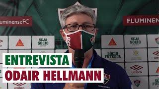 FluTV - Coletiva - Odair Hellmann - Fluminense 1 x 1 Flamengo - Final da Taça-Rio