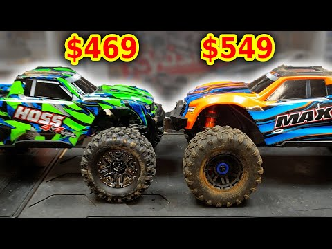 Traxxas HOSS VS MAXX RC Cars - Worth $80 more?
