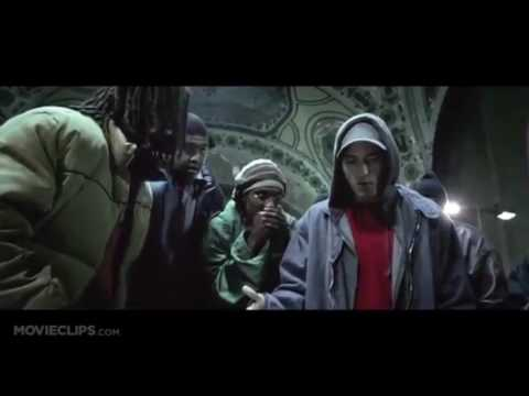 8 Mile All Eminem rap parts