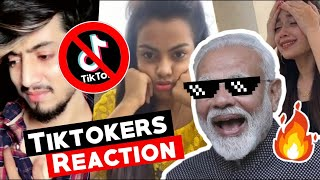 Tiktokers Reaction On Tiktok Ban | Tik Tok Ban In India | Est Entertainment