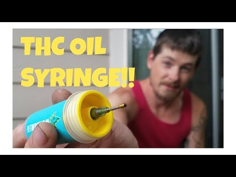 THC OIL SYRINGE AND VAPE JUICE MIX!!! HOW TO/ REVIEW