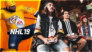 NHL 19 vs MAT BARZAL and ON THE BENCH