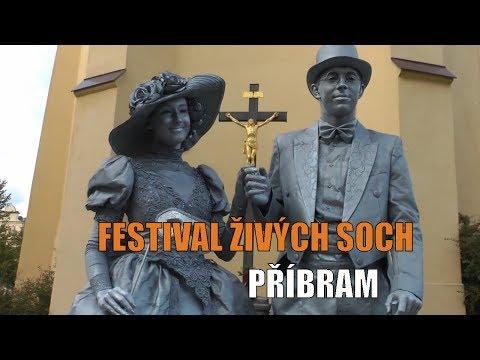Festival živých soch Sinela v Příbrami
