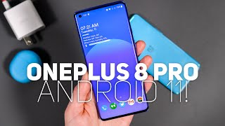 OnePlus 8 Pro Android 11 First Look!