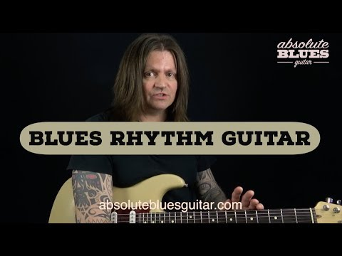 12 Bar Blues Rhythm Guitar Lesson