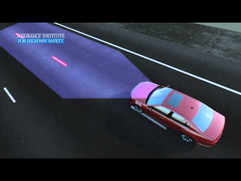 Systém sledování jízdního pruhuv