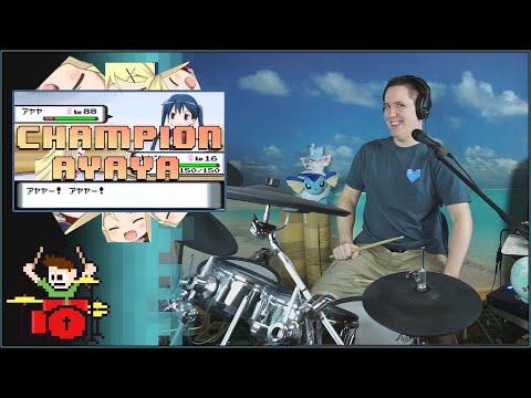 Champion Ayaya On Drums!